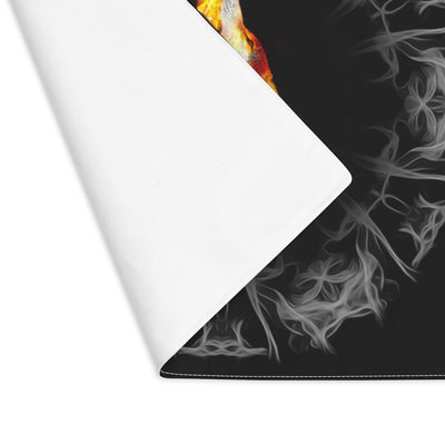 Fire Blazing Wolf Placemat