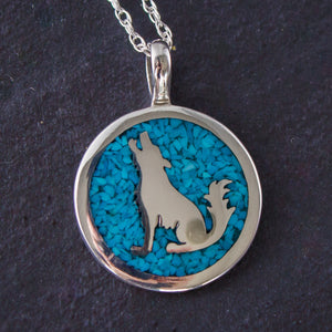 The Howling Wolf™ Pendant Necklace 925 Sterling Silver