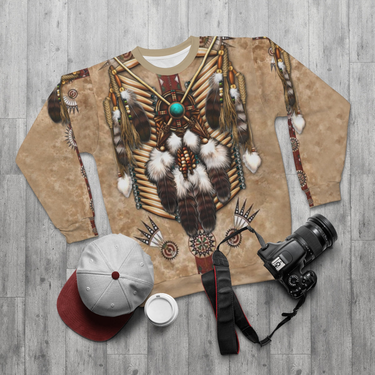 Desert Wanderer All Over Print Sweatshirt