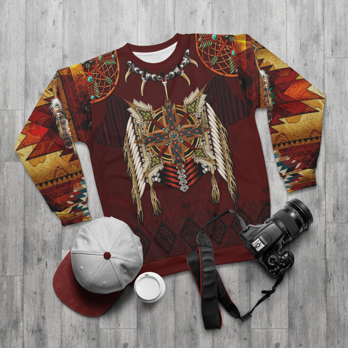 Eagle's Crest All Over Print  Sweatshirt