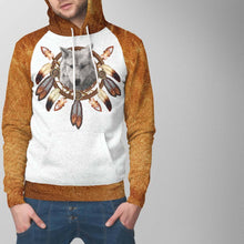 Load image into Gallery viewer, Dreamcatcher Wolf Hoodie