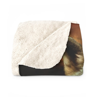 Brothers in Arms Sherpa Fleece Blanket