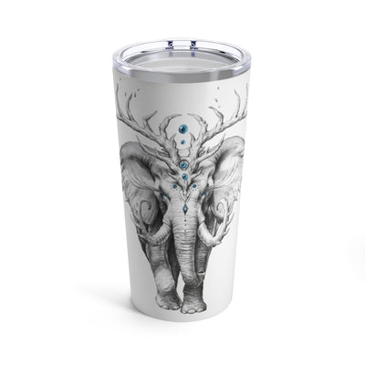 Elephant Soul by Jojoes Art Tumbler