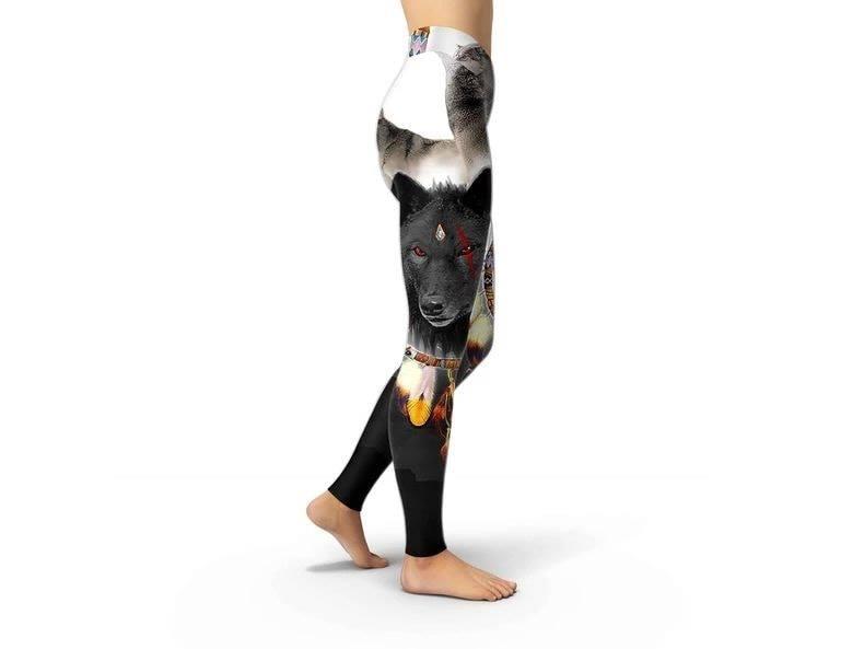 Wolf Leggings