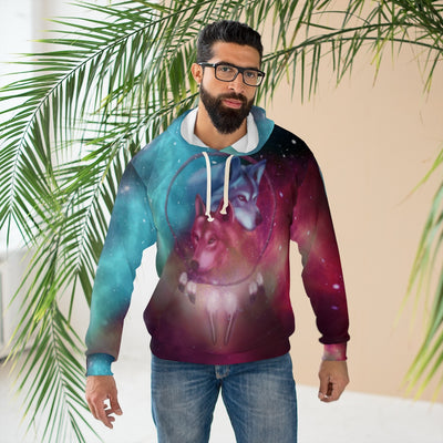 Galaxy Dream Catcher All Over Print Hoodie