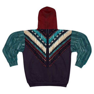 Colors of our Elders All Over Print Zip Up Hoodie
