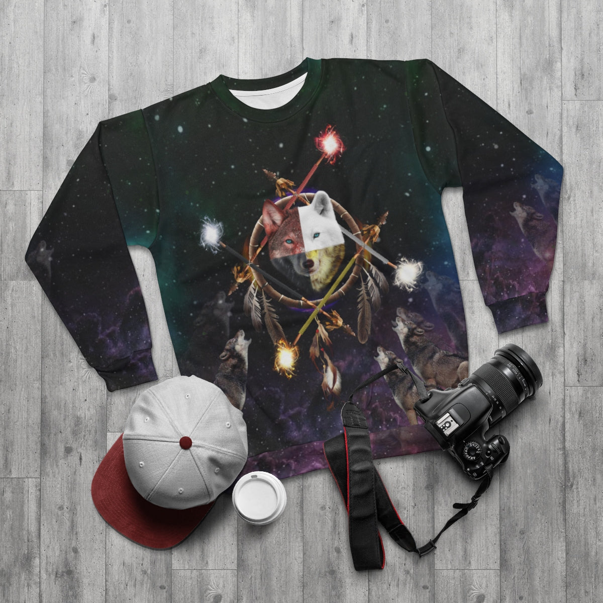 4 Ages Color All Over Print Sweatshirt
