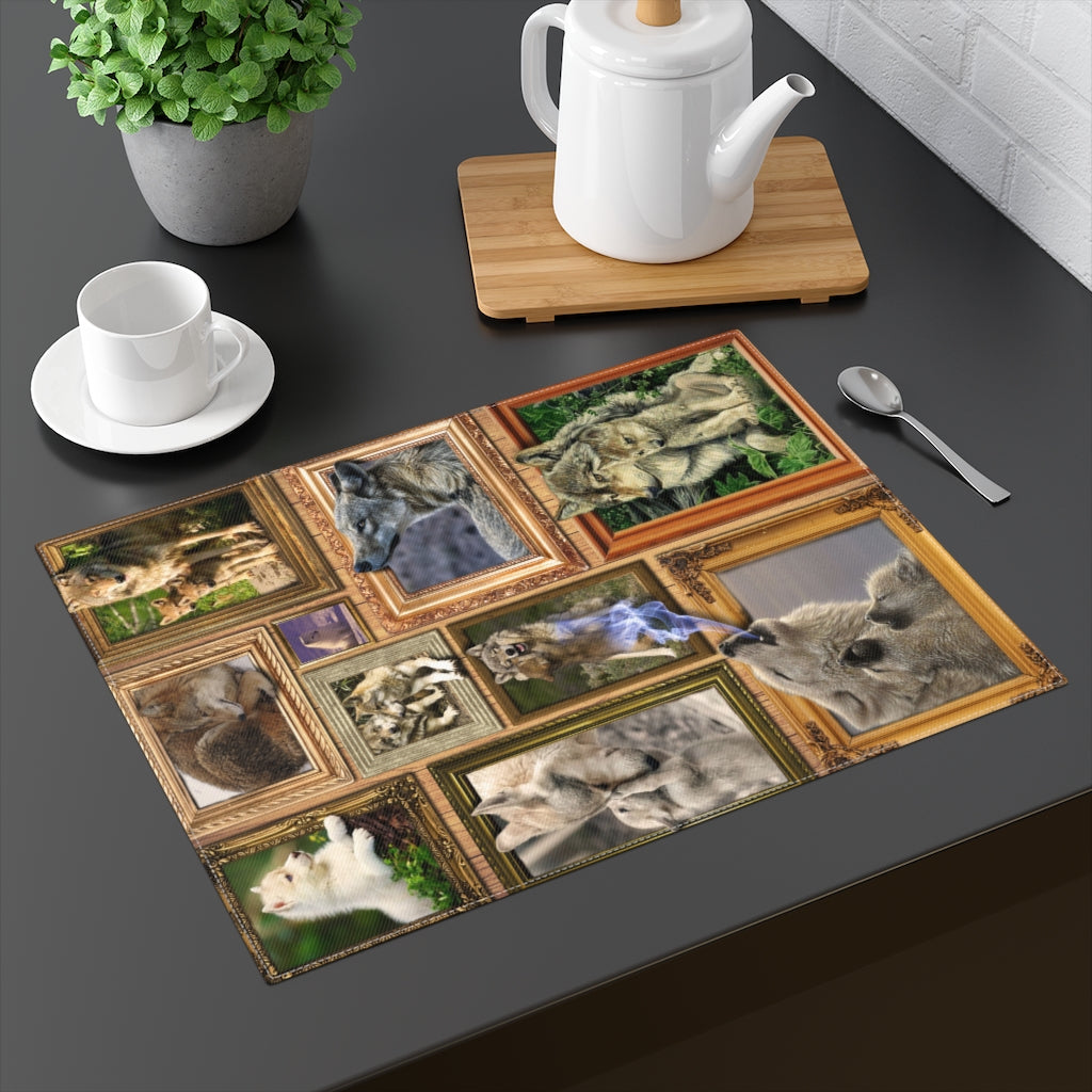 Free Spirited and Wild at Heart Placemat