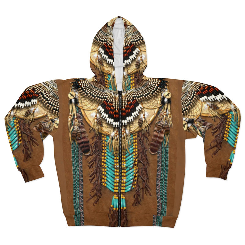 Sacred Dream Keeper All Over Print Zip Hoodie