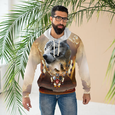 Song of the Elder Warrior Light All Over Print Hoodie