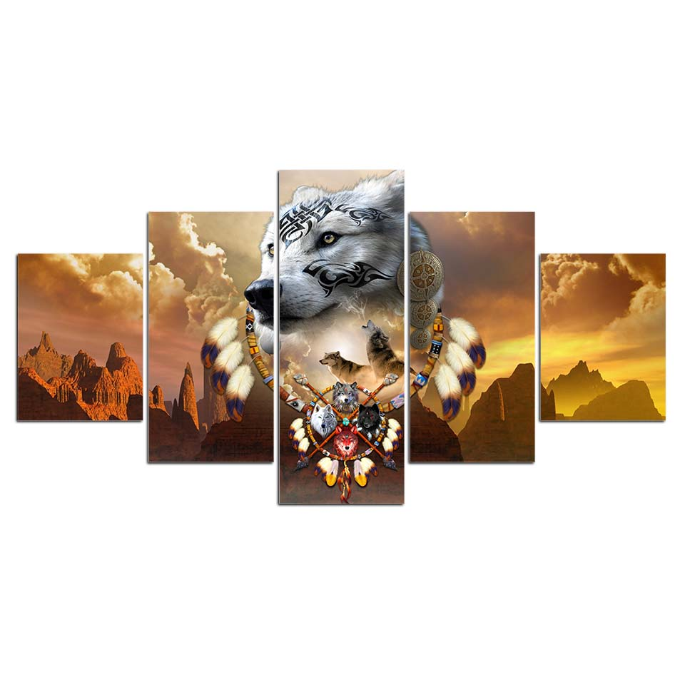 Songs of the Elder Warrior 5PC Canvas