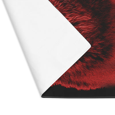 Brilliance Wolf Red Placemat