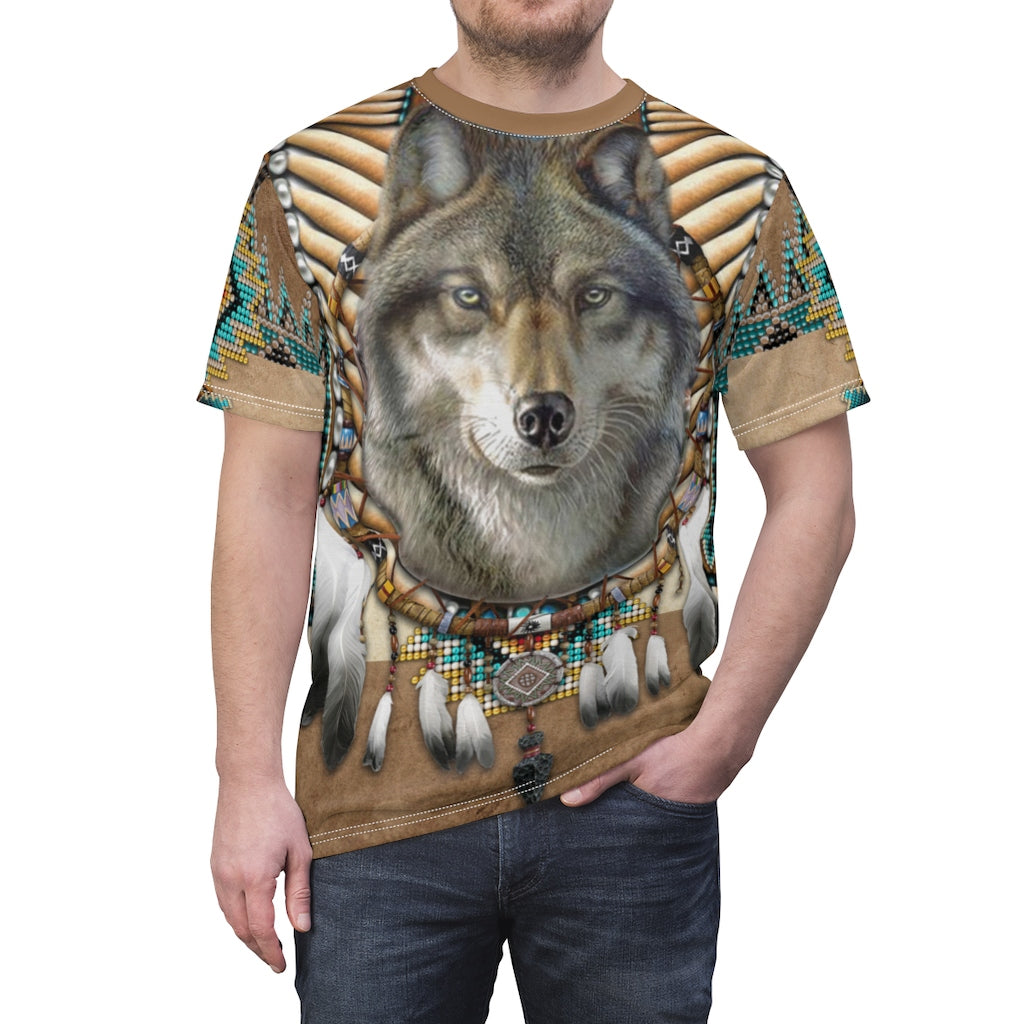 Spirit of the Wolf All Over Print T-shirt