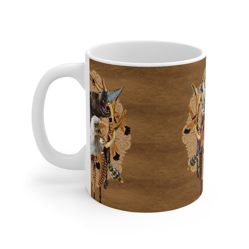 Totem Warriors Mug 11oz