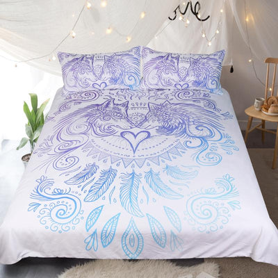 When I Look Into Your Eyes Bedding Set