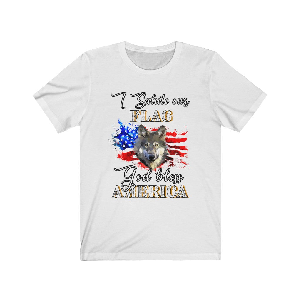 I Salute Our Flag T-shirt