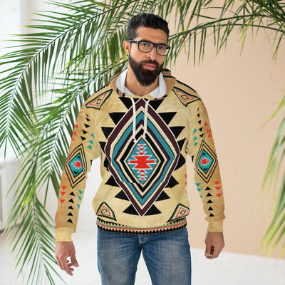 Native Inspired All Over Print Hoodie