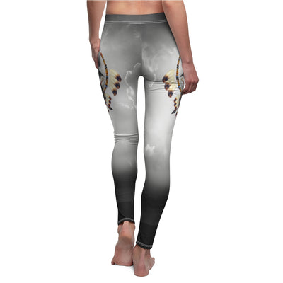 Alpha Wolf All Over Print Leggings