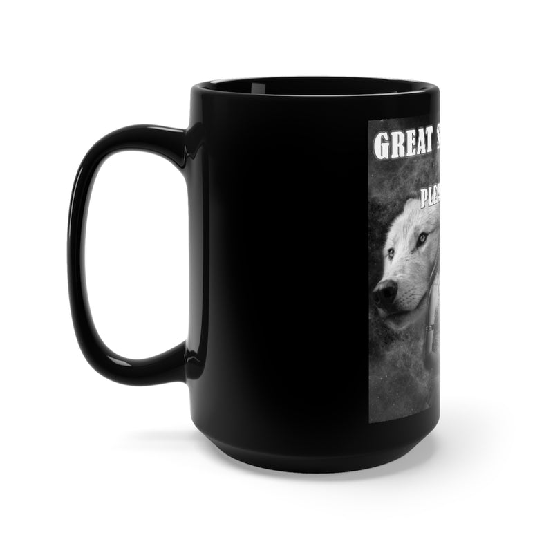 Great Spirit Black Mug