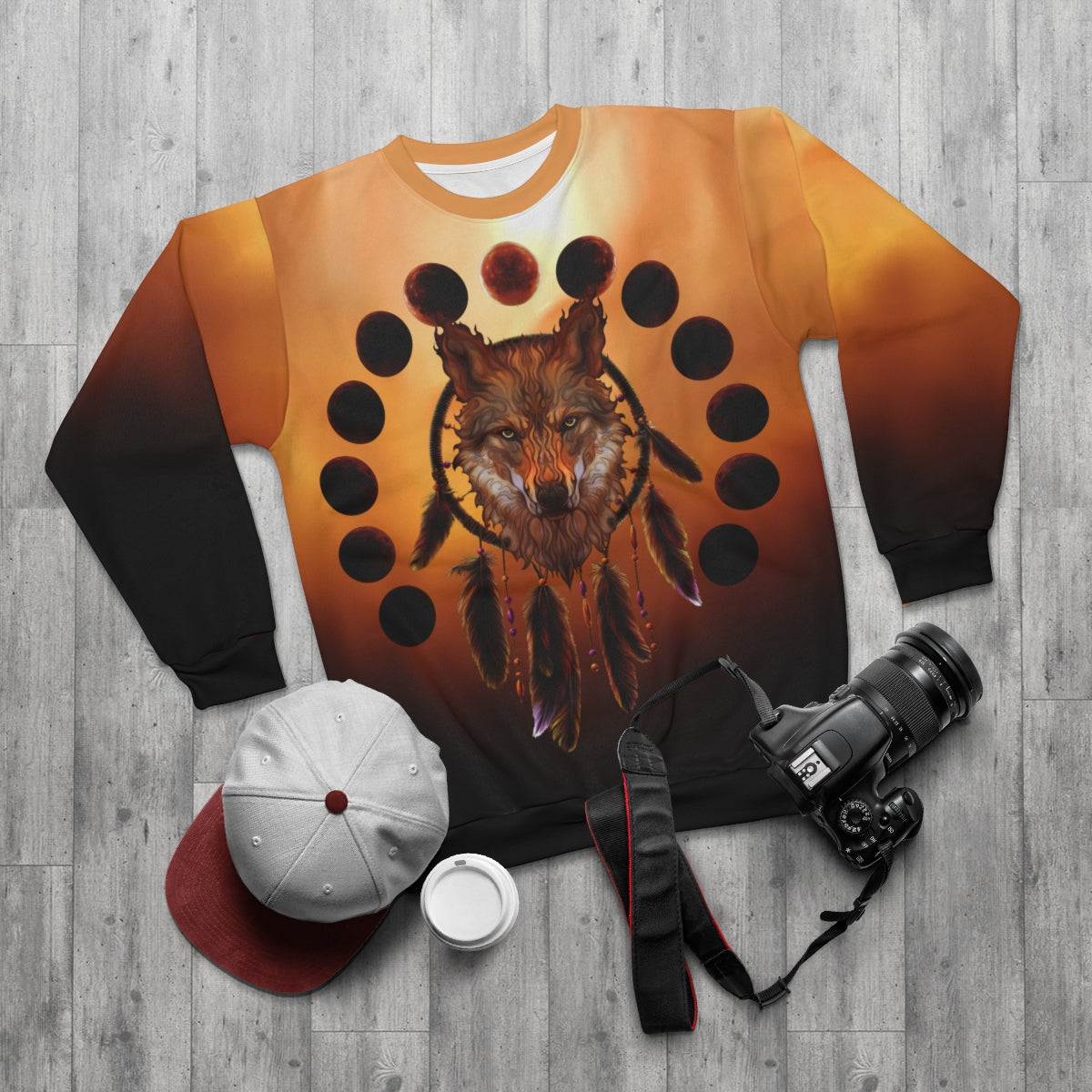 Blood Moon  All Over Print Sweatshirt
