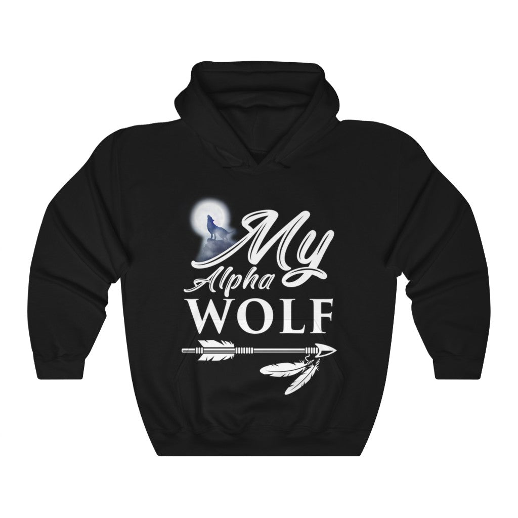 My Alpha Wolf Hooded Sweatshirt