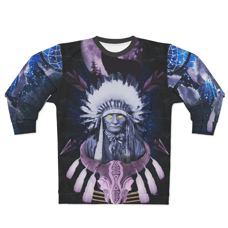 Totem Visions All Over Print Sweatshirt