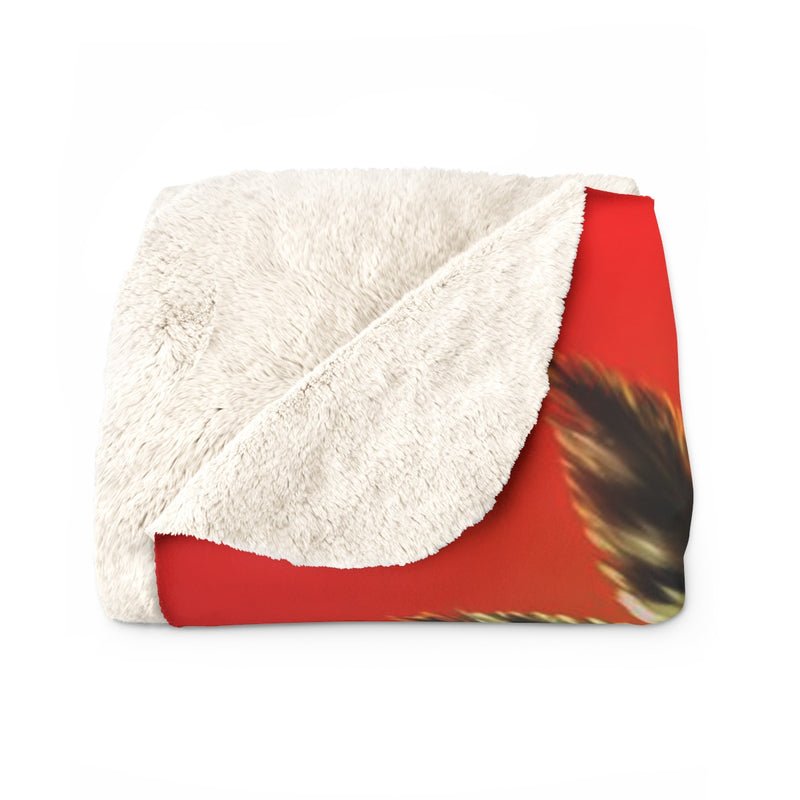 Khalia Sherpa Fleece Blanket