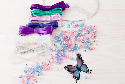 Butterfly in Paradise DIY Dream Catcher Kit
