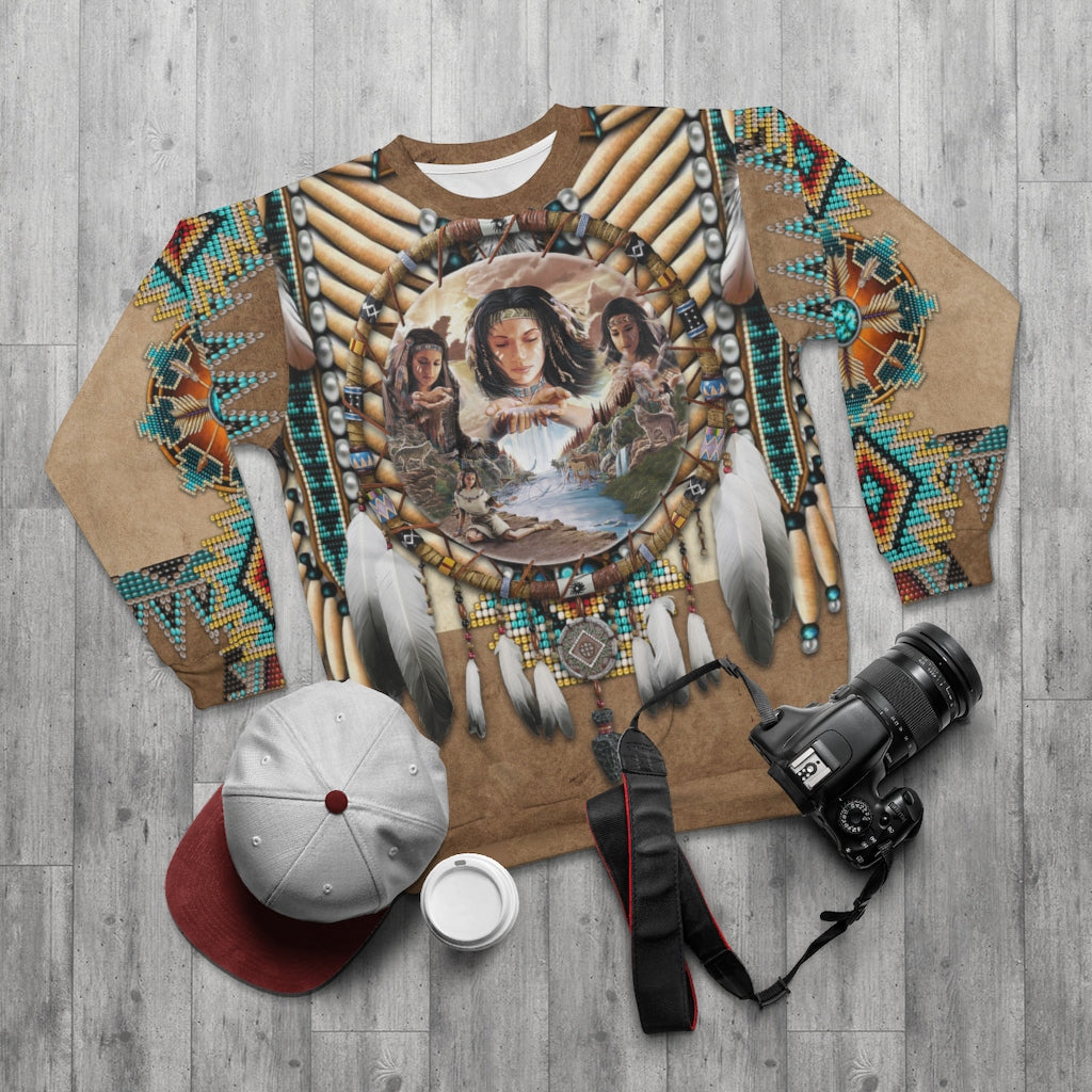Spirit of the Maiden All Over Print Sweatshirt