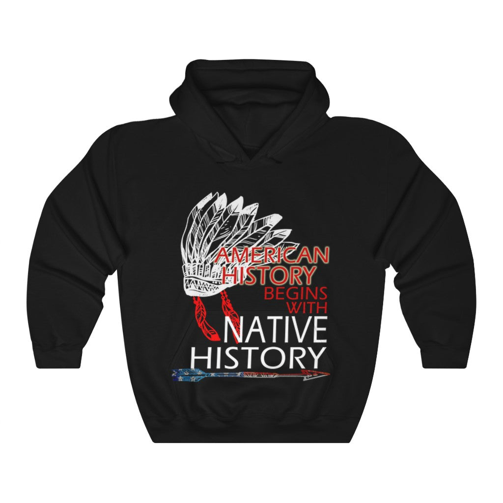 Native History Hooded Sweatshirt