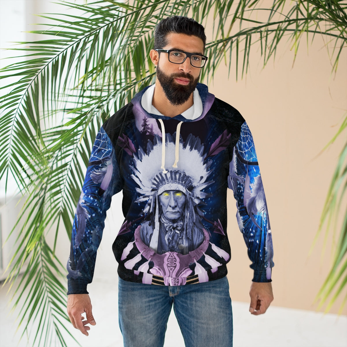 Totem Visions All Over Print Hoodie