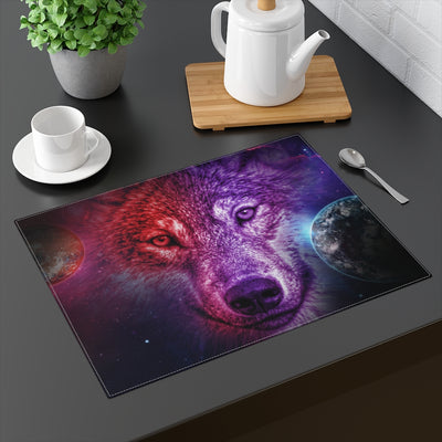 Dream Wolf Moon Placemat