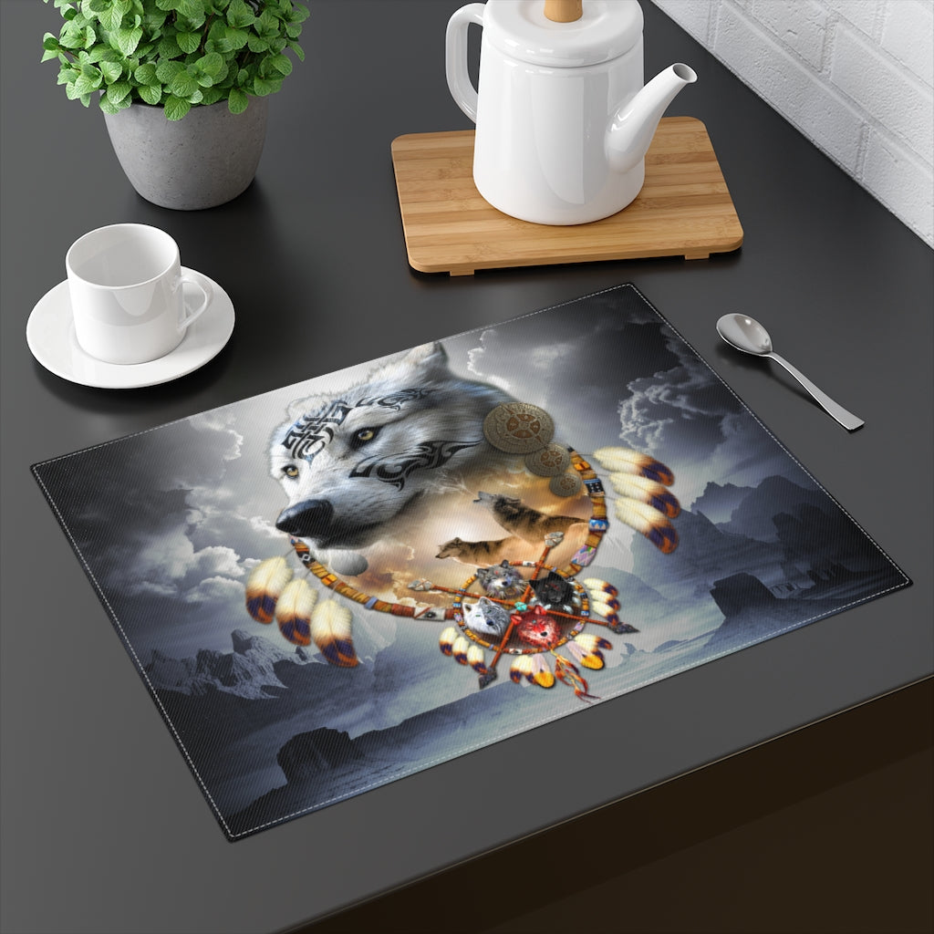 Song Of The Elder Warrior Dark Placemat