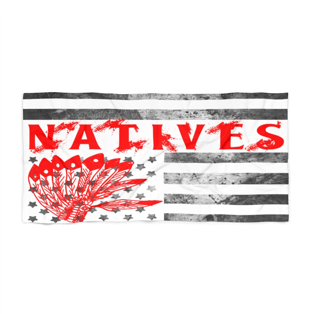Make America Native Again Beach Towel