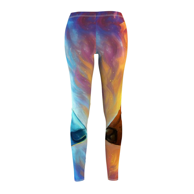 Fire and Ice All Over Print Leggings