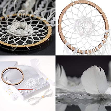 SNOWFALL DIY DREAM CATCHER KIT