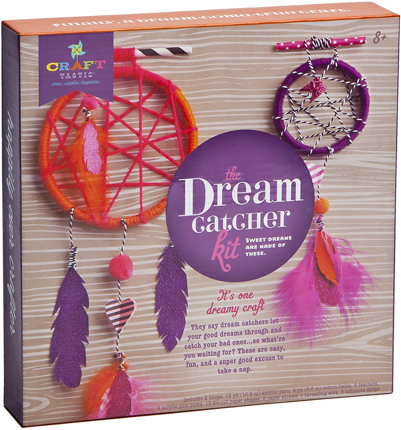 MAGENTA DIY DREAM CATCHER KIT