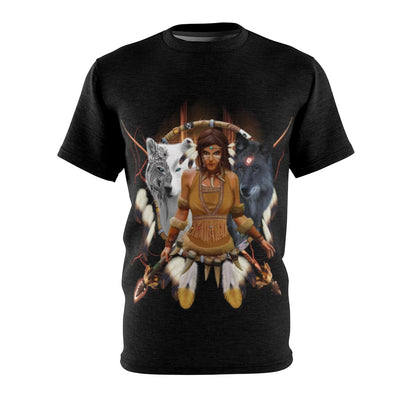 Scarlet Warrior All Over Print T-shirt