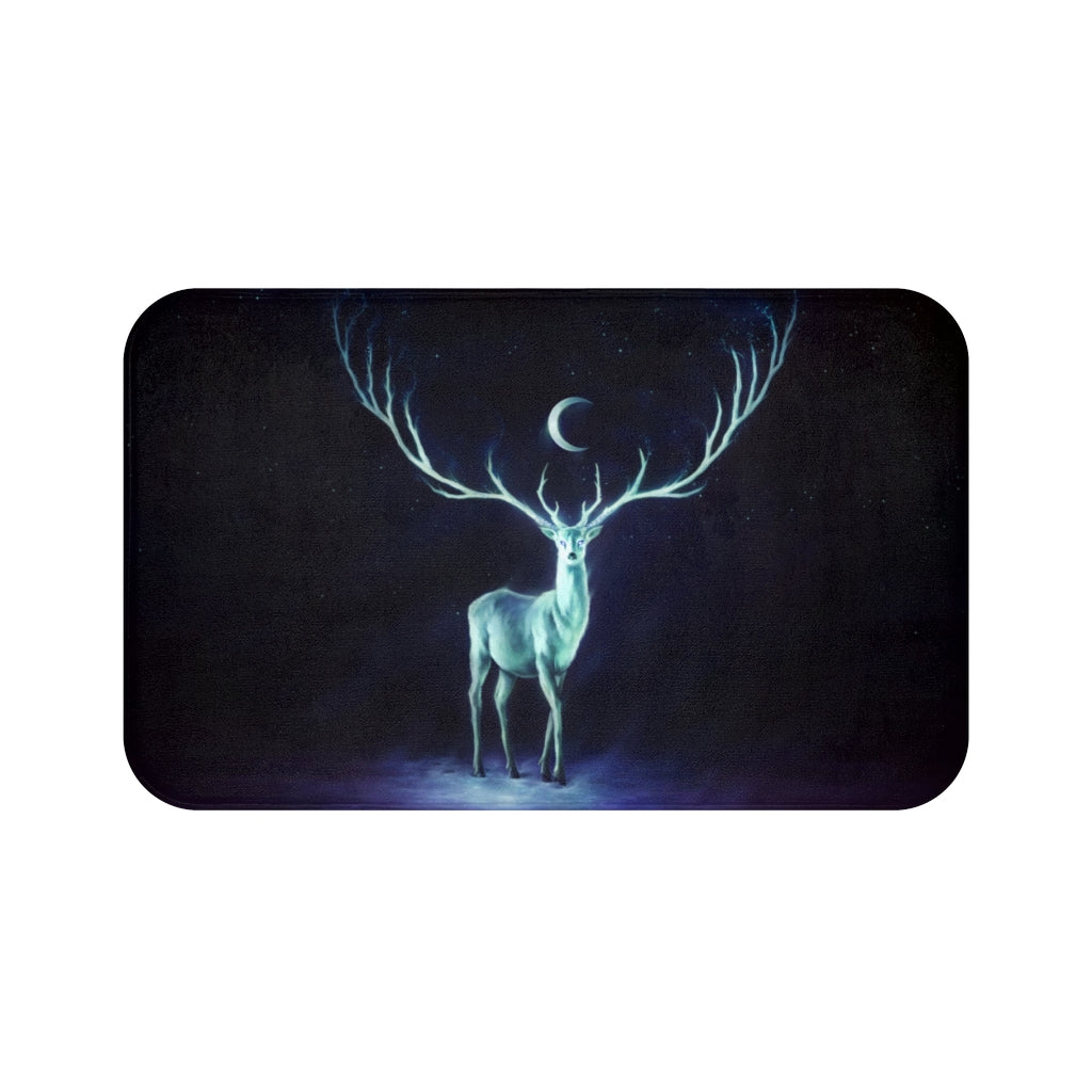 Night Bringer by Jojoes Art Bath Mat