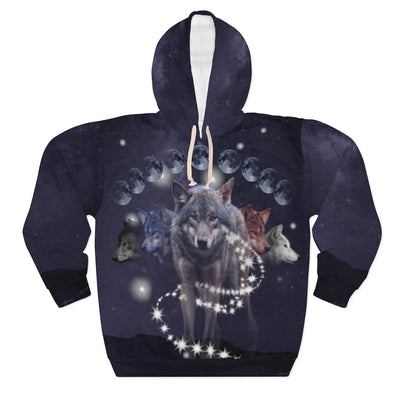 Phases of Luna All Over Print Hoodie
