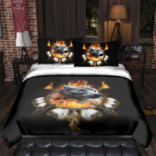 Load image into Gallery viewer, Fire Wolf Chief Bedding Set