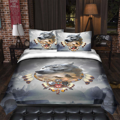 Songs of the Elder Warrior Bedding Set Dark
