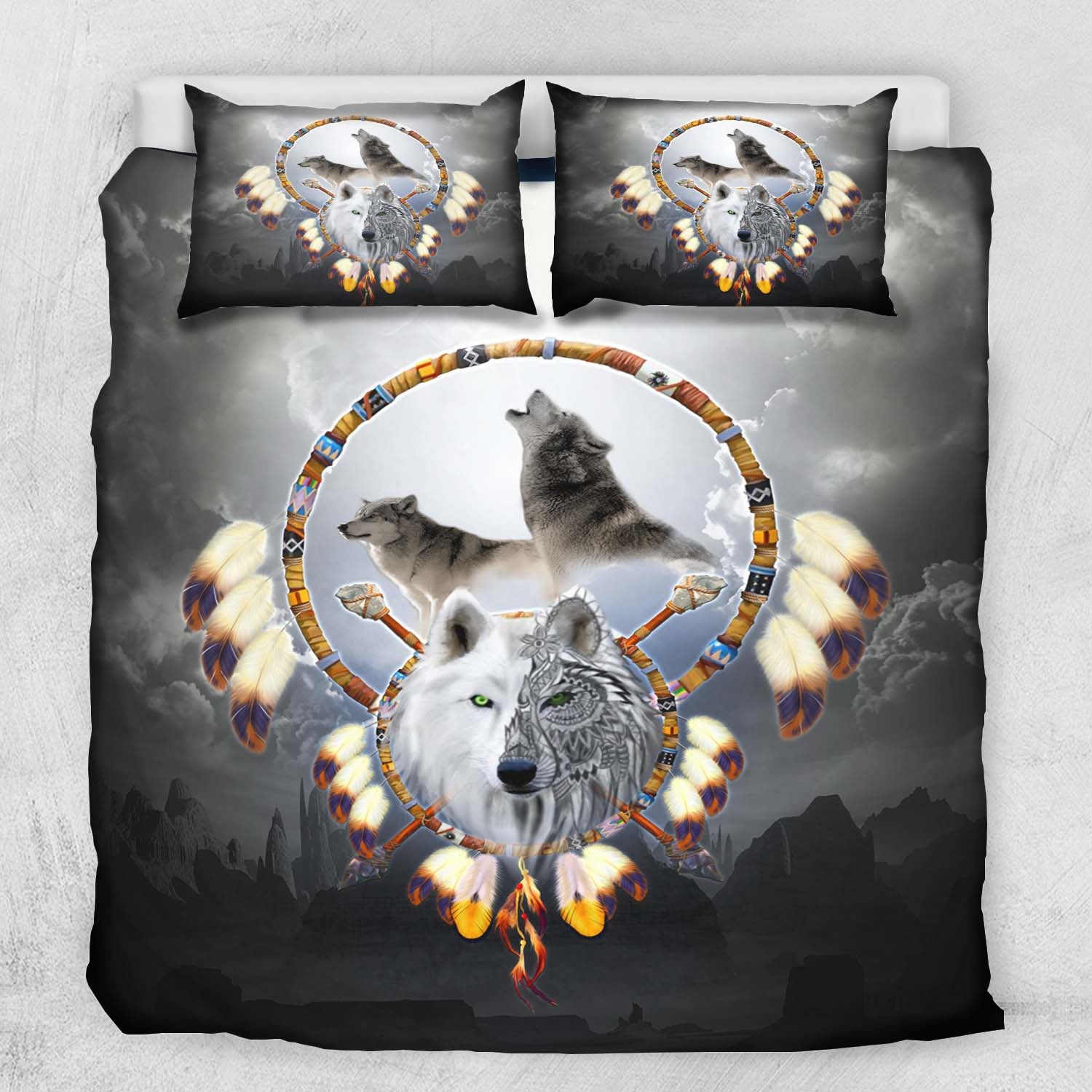 Omega Wolf Bedding Set