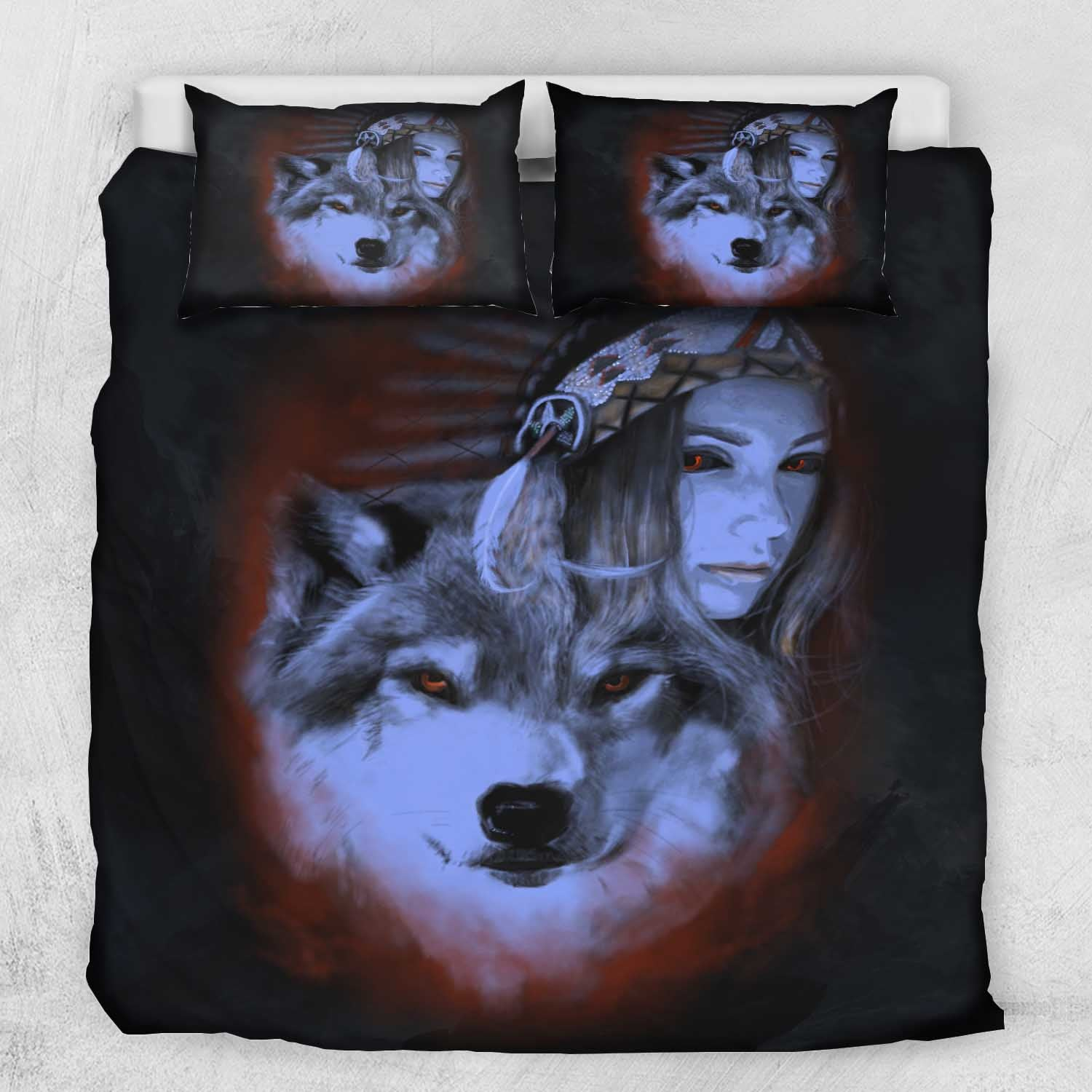 My Wolf My Spirit Bedding Set