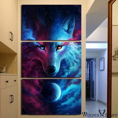 Where Light & Dark Meet 3PC Canvas