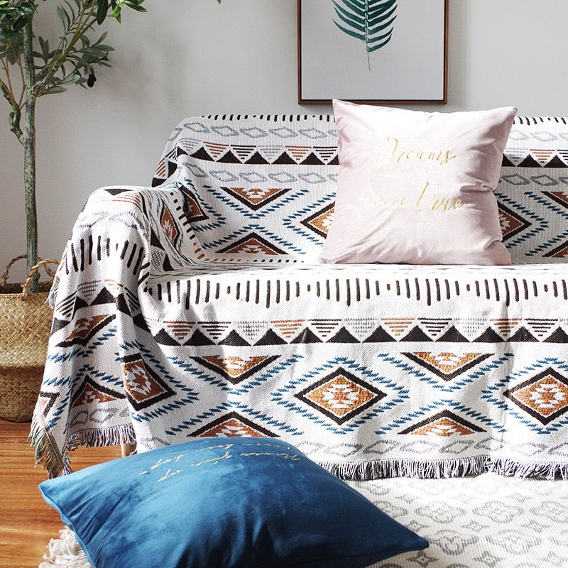 Geometry Energy Throw Sofa Blanket