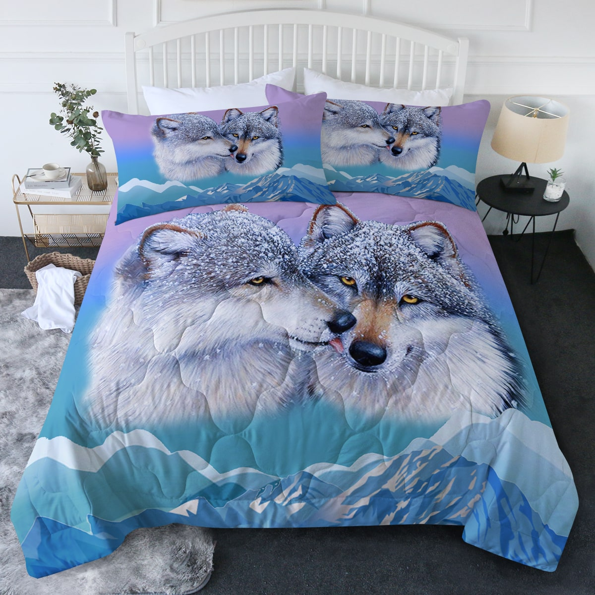 Wolf's Kiss Comforter Bedding Set