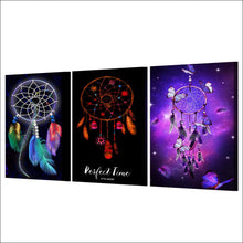 Load image into Gallery viewer, Dreamcatcher Wall Art 3pcs