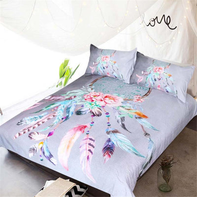Big Dreamcatcher Colors Bedding 3pcs Set