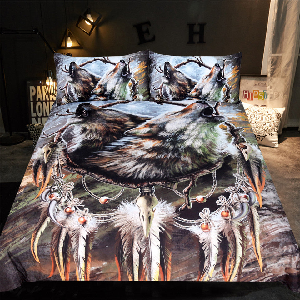 A Song for the Moon's Reflection Bedding Set
